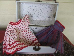 Doll Trunk and Clothes