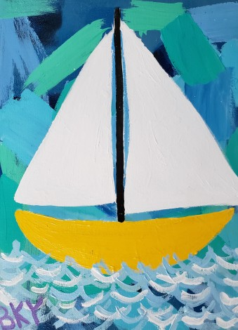 Bathub Sailboat Dreams of the Great Lakes