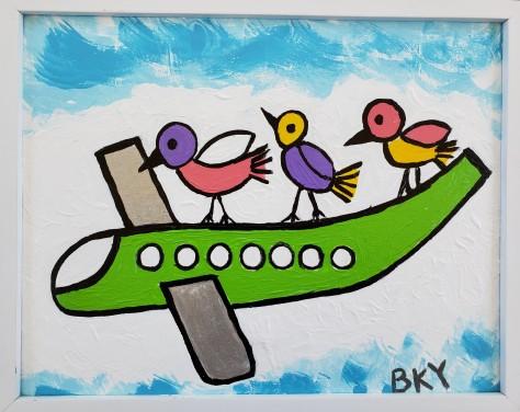Birds Hitch a Ride