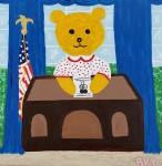 Ms. Bear Moves into the OvalOffice
