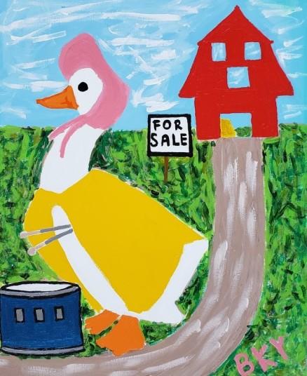 Duck on Farm