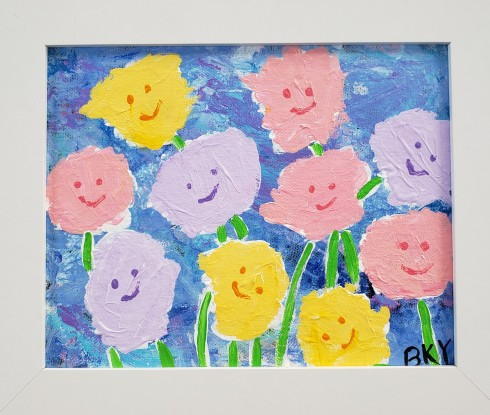 This image has an empty alt attribute; its file name is happy-flowers.jpg