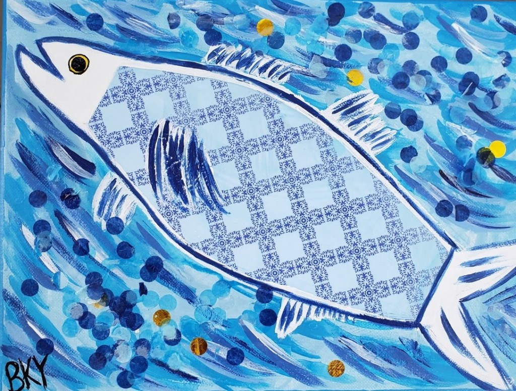 This image has an empty alt attribute; its file name is bluefish-1.jpg
