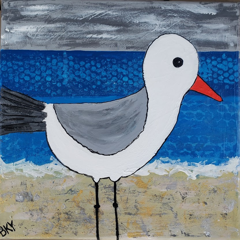 This image has an empty alt attribute; its file name is seagull.jpg