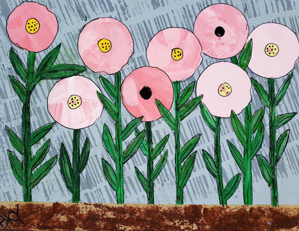 This image has an empty alt attribute; its file name is pink-poppies-thank-the-rain-revised.jpg